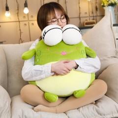 超萌软体青蛙玩偶可爱毛绒公仔玩具睡觉抱布娃娃圣诞节礼物女孩