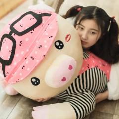 趴趴猪毛绒玩具布娃娃可爱大号睡觉抱枕猪公仔儿童玩偶女生日礼物