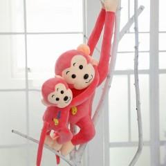 长臂猴子毛绒玩具小猴子公仔抱枕玩偶布偶娃娃儿童卡通女生日礼物