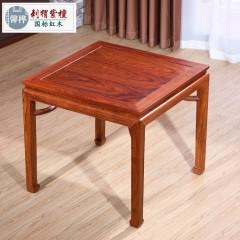小户型家用饭桌餐桌椅组合正方形实木八仙桌仿古中式红木四方桌子