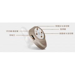 外贸热销 迷你隐形4.1无线蓝牙耳机一拖二立体声耳塞式通用型