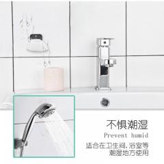 无痕沙漏创意强力牙刷支架黏贴式免打孔卫生间挂电动牙刷置物架座