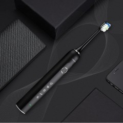 懒人超声波充电长续航电动牙刷成人USB美白牙刷软毛防水电动牙唰