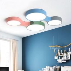 北欧卧室灯简约现代儿童房吸顶灯led创意灯客厅餐厅温馨客厅灯具