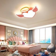新款led吸顶灯现代简约儿童房灯健康护眼男女孩卧室灯卡通房间灯